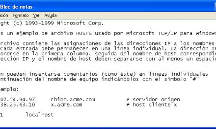 ¿Que es Archivo hosts?