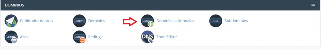Como agregar un dominio a cPanel paso a paso